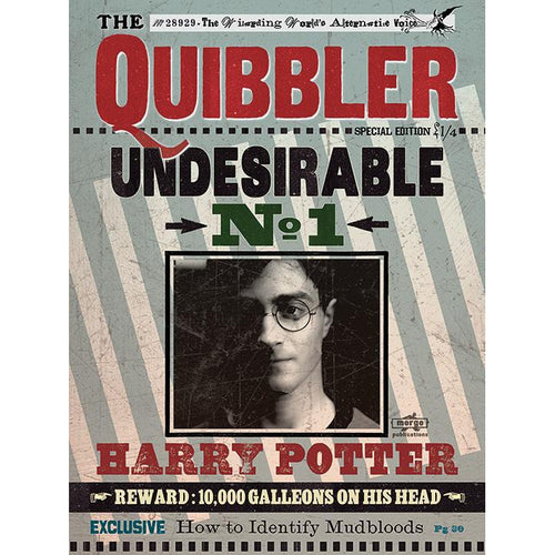 Harry Potter Quibbler Undesirable No.1 Canvas Print-The Curious Emporium