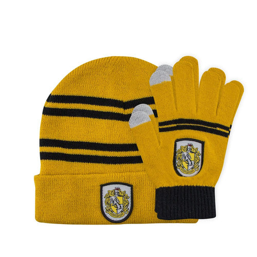 Beanie & Gloves Set for Kids Hufflepuff-The Curious Emporium