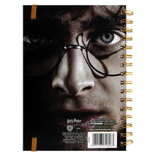 Load image into Gallery viewer, Harry/Voldemort 3D Cover A5 Notebook-The Curious Emporium