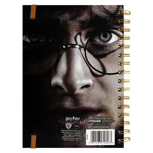 Harry/Voldemort 3D Cover A5 Notebook-The Curious Emporium