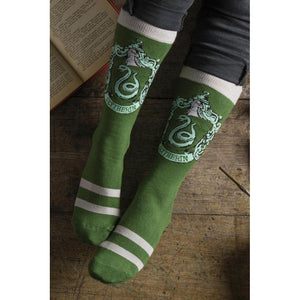 Ladies 4 Pair Harry Potter House Badges Socks-The Curious Emporium