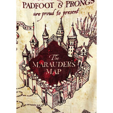Load image into Gallery viewer, Marauders Map Beach Towel-The Curious Emporium