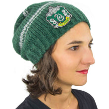 Load image into Gallery viewer, Harry Potter Slouchy Beanie Slytherin-The Curious Emporium