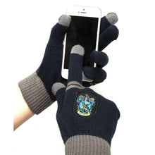 Load image into Gallery viewer, Ravenclaw E-Touch Knitted Acrylic Gloves-The Curious Emporium