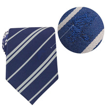 Load image into Gallery viewer, Adult Tie & Metal Pin Deluxe Box Ravenclaw-The Curious Emporium
