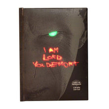 Load image into Gallery viewer, Lord Voldemort Notebook With Light Up Effect-The Curious Emporium