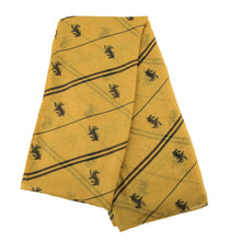 Load image into Gallery viewer, Lightweight Hufflepuff Scarf-The Curious Emporium