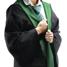 Load image into Gallery viewer, Harry Potter Adult Deluxe Wizard Robe Slytherin-The Curious Emporium
