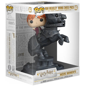 POP! Vinyl Figure Ron Riding Chess Piece 21cm-The Curious Emporium