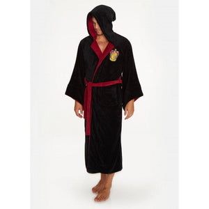 Fleece Bathrobe Gryffindor Wizard-The Curious Emporium