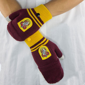 Fingerless Gloves Gryffindor-The Curious Emporium
