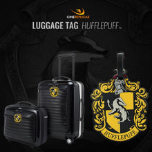 Load image into Gallery viewer, Rubber Luggage Tag Hufflepuff-The Curious Emporium