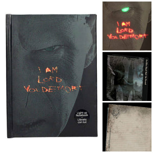 Lord Voldemort Notebook With Light Up Effect-The Curious Emporium
