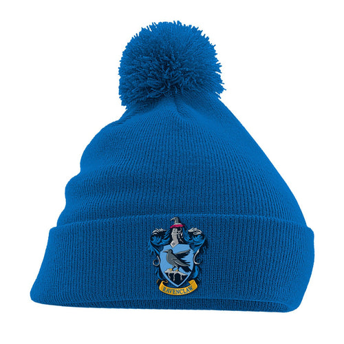 Harry Potter Pom-Pom Blue Beanie Ravenclaw-The Curious Emporium