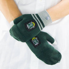 Load image into Gallery viewer, Fingerless Gloves Slytherin-The Curious Emporium
