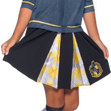 Load image into Gallery viewer, Hogwarts House Girl's Crest Skirts - Multiple Houses Available-The Curious Emporium