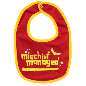 Gryffindor Baby Sleepsuit & Bib Set-The Curious Emporium