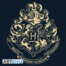 Load image into Gallery viewer, Men's Hogwarts Varsity Jacket Navy/White-The Curious Emporium