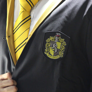 Harry Potter Adult Deluxe Wizard Robe Hufflepuff-The Curious Emporium