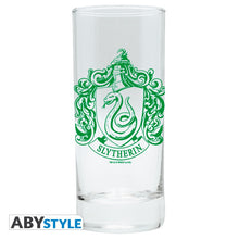 Load image into Gallery viewer, Hogwarts Houses 3 Drinks Glasses Set-The Curious Emporium