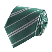 Load image into Gallery viewer, Adult Tie & Metal Pin Deluxe Box Slytherin-The Curious Emporium