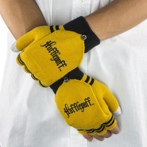Fingerless Gloves Hufflepuff-The Curious Emporium