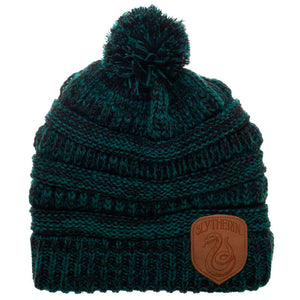 House Knitted Pom Beanie Hat (All Houses Available)-The Curious Emporium