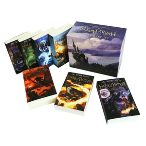 Harry Potter: The Complete Book Collection Box Set-The Curious Emporium