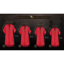 Load image into Gallery viewer, Personalised Gryffindor Quidditch Robe-The Curious Emporium