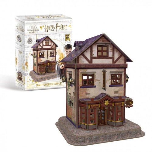 University Games Diagon Alley Quality Quidditch Suppliers 3D Puzzle-The Curious Emporium