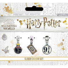 Load image into Gallery viewer, Hogwarts Express Slider Charm Set-The Curious Emporium