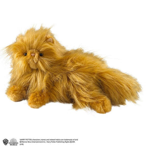 Noble Collection Crookshanks Plush Toy 25cm-The Curious Emporium