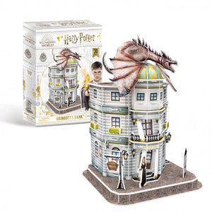 University Games Diagon Alley Gringotts Bank 3D Puzzle-The Curious Emporium