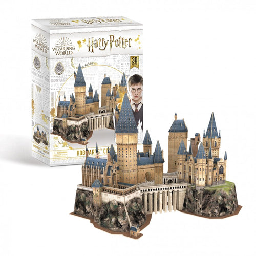 University Games Hogwarts Castle 3D Puzzle-The Curious Emporium