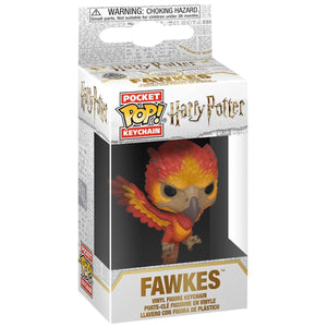 Pocket POP! Vinyl Keychain Fawkes 4cm-The Curious Emporium