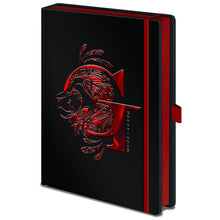 Load image into Gallery viewer, Premium A5 Notebook Gryffindor Foil-The Curious Emporium