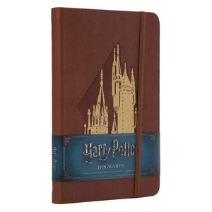 Harry Potter Hardcover Ruled Journal Hogwarts New Design-The Curious Emporium