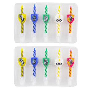 Harry Potter Birthday Candles 10-Pack-The Curious Emporium