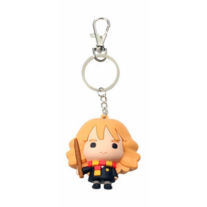 Harry Potter Rubber Keychain Hermione Granger 7cm-The Curious Emporium