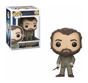 Fantastic Beasts 2 POP! Movies Vinyl Figure Albus Dumbledore 9cm-The Curious Emporium