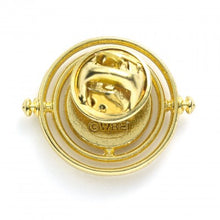 Load image into Gallery viewer, Fixed Time Turner Pin Badge-The Curious Emporium