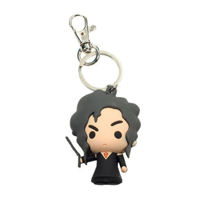 Harry Potter Rubber Keychain Bellatrix Lestrange 7cm-The Curious Emporium