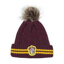 Load image into Gallery viewer, Harry Potter Pom-Pom Beanie Gryffindor-The Curious Emporium