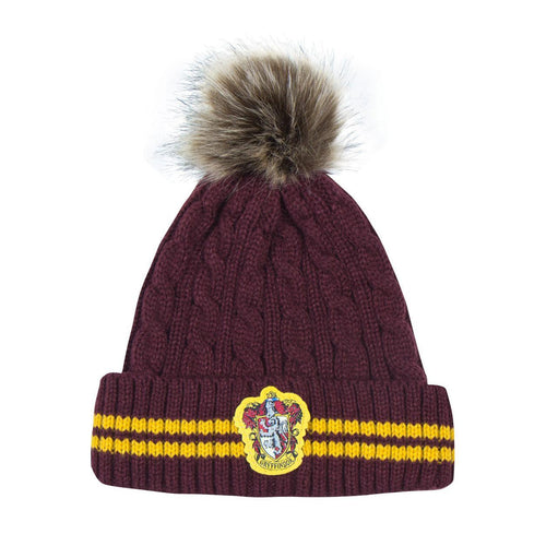 Harry Potter Pom-Pom Beanie Gryffindor-The Curious Emporium