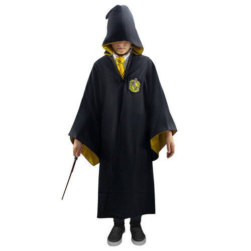 Harry Potter Kids Deluxe Wizard Robe Hufflepuff-The Curious Emporium