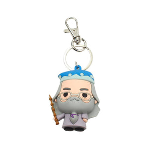 Harry Potter Rubber Keychain Albus Dumbledore 7cm-The Curious Emporium