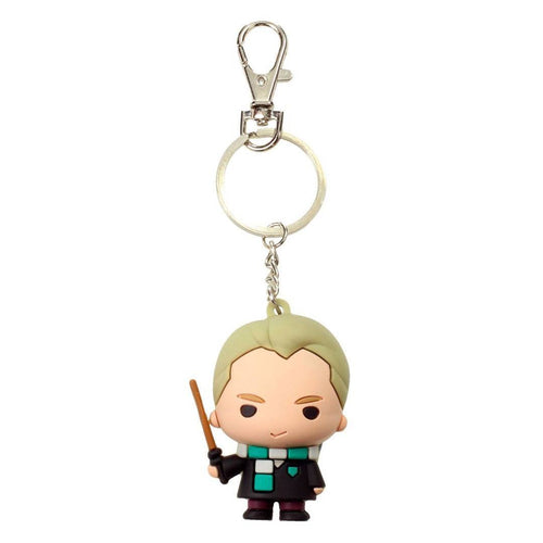 Harry Potter Rubber Keychain Draco Malfoy 7cm-The Curious Emporium