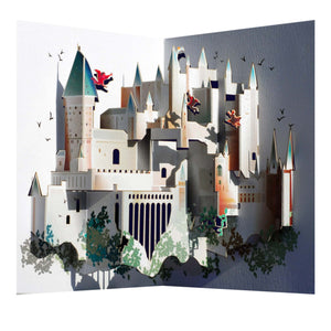 Hogwarts Castle - Amazing Pop-up Greeting Card-The Curious Emporium