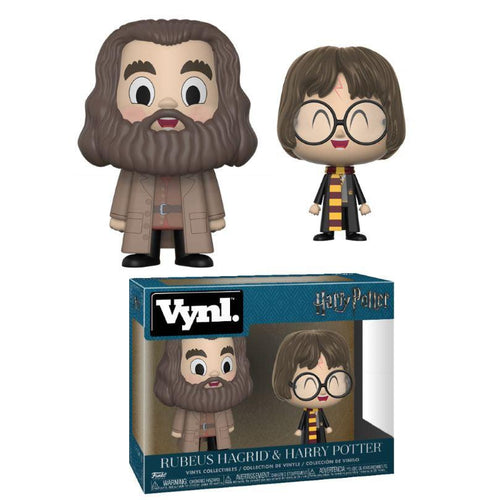 Harry Potter VYNL Vinyl Figures 2-Pack Hagrid & Harry 10cm-The Curious Emporium