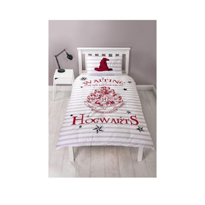 Harry Potter Letters Single Reversible Duvet Set-The Curious Emporium